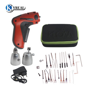 HOT KLOM Cordless Electric Lock Pick Gun Auto Lock Picks Tools Pick Guns Lockpicking Lock Pick Set Locksmith Tools