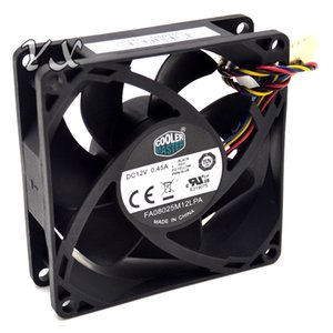 Wholesale FA08025M12LPA V A CM MM wire PWM hydraulic mute CPU fan for Cooler Master