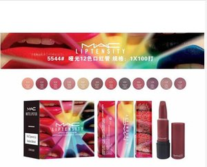 Wholesale New arrival brand LIPSTICK WITH EXTREME UNDENIABLE COLOUR MATTE INTENSITY LIPTENSITY