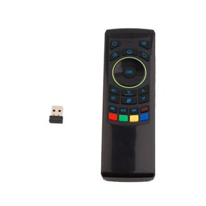 2.4Ghz Wireless Keyboard 3 in1 Air Fly Mouse QWERTY GYRO Sensing Remote IR Learning For Android TV Box MINI PC FM5S
