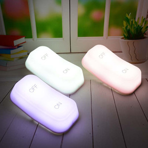 Wholesale ON OFF open to turn OFF the lights Gravity induction button a night Creative energy smart LED small night