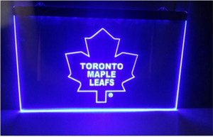 Wholesale B Toronto Maple Leafs beer bar pub club d signs led neon light sign home decor crafts