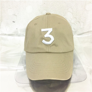 Free shipping Chance 3 the rapper cap Streetwear kanye west dad cap letter Baseball Cap Book 6 panel Real friends god hats for men women
