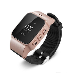 Wholesale For Old Men Women iOS Android phones Smart Watch D99 Elderly Smart Watch Phone SOS Anti lost Gps Lbs Wifi Tracking Smart Watch