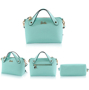 Hot Barbie genuine new fresh and stylish portable Messenger bag small summer new color simple handbags 17071904 on Sale