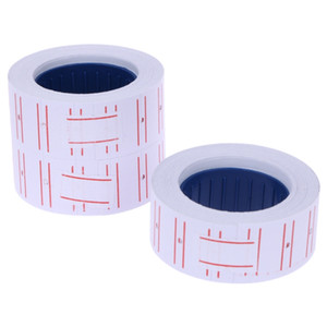 Wholesale x Paper Tag Price Label Sticker Single Row for MX Price Gun Labeller mmX12mm PTSP