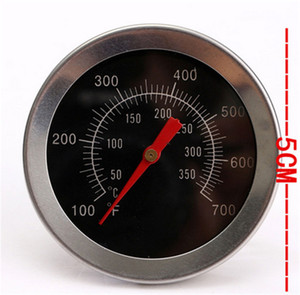Wholesale bbq pits resale online - Stainless Steel BBQ Smoker Pit Grill Thermometer GAUGE Temp Barbecue Camp
