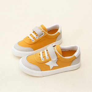 Wholesale Children Canvas Shoes Boys Sneakers Kids Shoes For Girl Breathable Fall 2017 New Autumn Girls Shoes Fashion Toddler