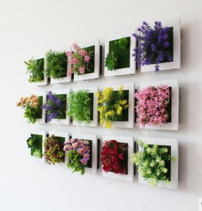 Wholesale frames for art for sale - Group buy Simulation of plant frame wall mount simulation of more meat plant frame wall simulation flower wall decoration