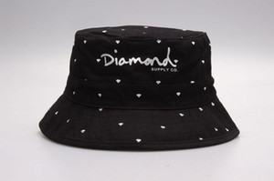 2017 brand Diamonds bucket hats floral leaf Hunting Fishing mens sports hiphop bobs gorras bones Fisherman caps