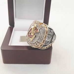 Wholesale LeBron 2016 Alloy world basketball Championship Ring With Wooden Box