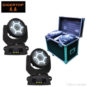 Wholesale 2in1 Flightcase Pack x5W Led Moving Head Light American Disco Dj Cree High Brightness LED Silent Zoom Motor Fan Cooled CE ROHS TP L610