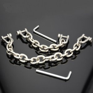 Wholesale Bondage restraints metal cuff chain shackles bdsm fetish slave sex products toys for adults Alloy toe cuff adult games