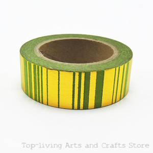 Wholesale pc Sell Green Foil Washi Tape Set Japanese Stationery Scrapbooking Decorative Tapes Adhesive Tape Kawai Adesiva Decorat
