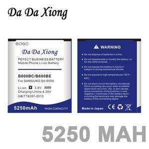 5250mAh B600BC Li-ion Phone Battery for Samsung galaxy S4 i9500 i9505 i9502 i9515 i9508 i959 i337 S4 Active i9295 Grand 2