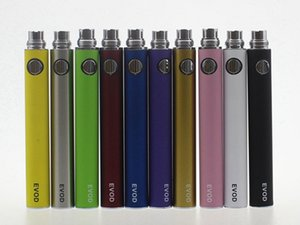 Wholesale EVOD Battery Variable Voltage Battery mAh mAh mAh Battery Thread Vape Pen fit EVOD vaporizer EGo Kit CE4 CE5 MT3
