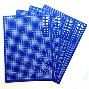 Plastic PP A4 Grid Lines Self Healing Cutting Mat Craft Card Fabric Leather Paper Board