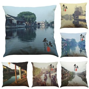 Wholesale Xitang Impress One Location of Mission Impossible 3 Linen Cushion Cover Home Office Sofa Square Pillow Case Decorative Cushion Covers