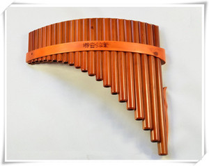 Wholesale Pan Flute Pipes Natural Bamboo Wind Instrument Panpipe G Key Flauta Xiao Handmade Pan Flute Flauta Folk Musical Instruments