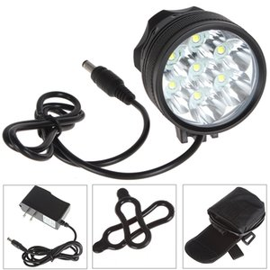 Wholesale On Sale SecurityIng Lm x LB XL T6 LED Bright Bicycle Light mAh Battery Pack LEF_S65