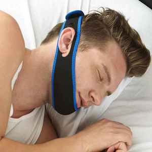 Wholesale New Stop Snorin Anti-Snore Strap Apparatus with Anti-snore Chin Strap 600 X 32MM Stop Snoring Belt Anti Snoring Chin Jaw Supporter