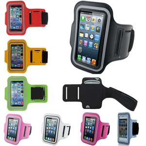 Wholesale For iphone 5 5S 4 4S Sport Armband Gym Case Cover Pouch Bag Belt Waterproof phone