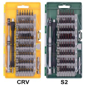 Wholesale With Crv S2 Screwdriver Bit in Precision Screwdriver Set Magnetic Torx Tools Kit for Cell Phone Tablet Compact Repair set