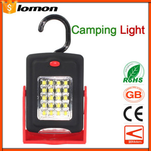 Wholesale LED Night Light Flashlight LED Torch Lantern Work Light Portable LED Lights Camping Bicycle Lamp with Built in Magnet Hook Handy Torch