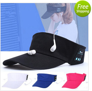Wholesale Wireless Bluetooth Headphone Hat in1 Headset MenaBluetooth S Female Outdoor Sports Music cap style headphone for xiaomi iphone mobilephone