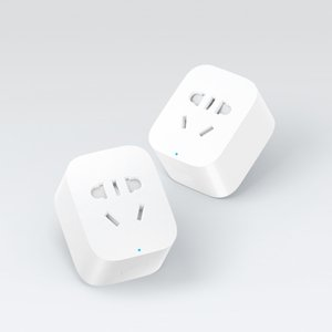 Wholesale Original Xiaomi Smart Socket Plug Charger Basic WiFi APP Wireless Remote EU US UK AU Socket Adaptor Power on and off with phone