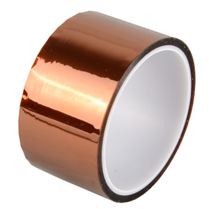 Wholesale Kapton Tape Sticky High Temperature Heat Resistant Polyimide 25mm,50mm,10mm,20mm,30M B00137 BARD