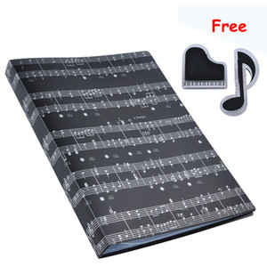 Wholesale Music Sheet File Paper Documents Storage Folder Holder Plastic A4 Size Pockets
