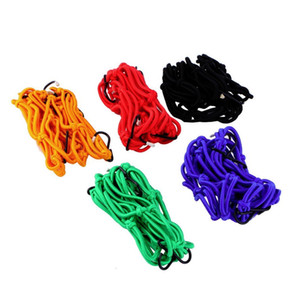 30*30cm Luggage Cargo Bungee Net Bag 6 Hooks Bike Motorcycle Helmet Mesh Storage Carrier Bag