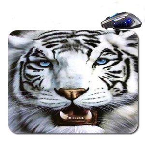 Wholesale CThe Face Of The Tiger ustom Antislip High Definition Printing Gaming Rubber Mouse Pad Cheap Computer Desk