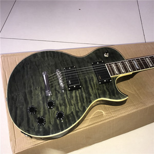Wholesale New Chinese good guitar custom shop Electric Guitar beautiful guitarra with black color can be a of custom