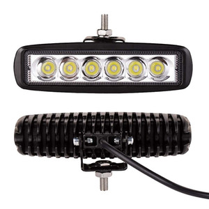 Wholesale 18W x W Spot or Flood Beam K LED Work Driving Light bar V V spot lamp IP67