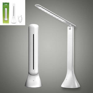 LED Desk Lamp Dimmable Touch Book Light USB Charging Reading Light Chargeable Table Lamp Portable Folding Lamp GTTL04
