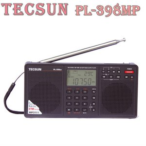 Wholesale Factory Brand Design TECSUN PL MP FM Stereo SW MW LW DSP World Band Radio MP3 Player Black