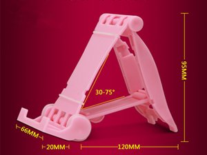 Wholesale Desktop foldable stands cell phone mounts holder Tablet PC Universal stent portable lazy stands at good price