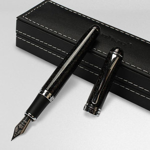 Luxury JINHAO X750 Fountain Pen Black shimmering sands Medium NIB Sign Pens Writing Supplies Party holdiay gift