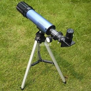 Wholesale Freeshipping telescope Refractor Type Space telescope w tripod for children student Christmas gift festival Box