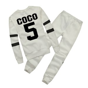 Wholesale Hot Europe brand Autumn Winter Fashion Women Sweater Jogger Sport Tracksuit Fleece Sweatshirt Hoodies Blouse Plus Pants Suit