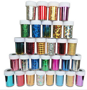 Wholesale 233 Options Nail Art Transfer Foil Sticker Paper DIY Beauty Polish Design Stylish Nail Decoration Tools
