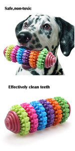 Wholesale Pet Dog Puppy Teething Toy for Teething Cleaning and Training Playing Dog Teeth Gums Chew Toys