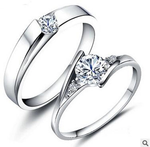 Wholesale halo engagement rings for sale - Group buy 925 Sterling Silver Rings CT HALO DIAMOND ENGAGEMENT RING WEDDING BAND SET G H EGL USA K