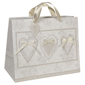 Gift bags custom printed Packaging bags paper with handles Shopping bags for wedding cloth dress jewelry PB19-21