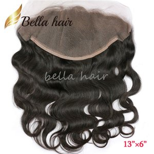 Wholesale 13 Lace Frontal Closure inch Brazilian Body Wave Unprocessed Human Hair Ear to Ear Lace Closure Bella Hair Products