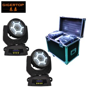 Wholesale 2in1 Flightcase Pack x5W Led Moving Head Light American Disco Dj High Brightness LED Silent Zoom Motor Fan Cooled CE ROHS TP L610