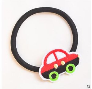 Hand-woven cartoon hair bands appliance with hook ball elastic headdress flower children shipping free on Sale