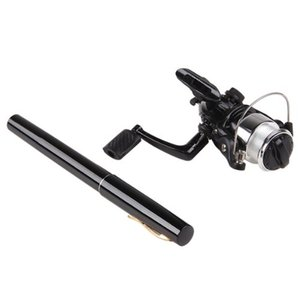 Wholesale Mini black pen fishing rod kits